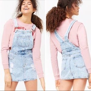 Forever21 Jean overall dress